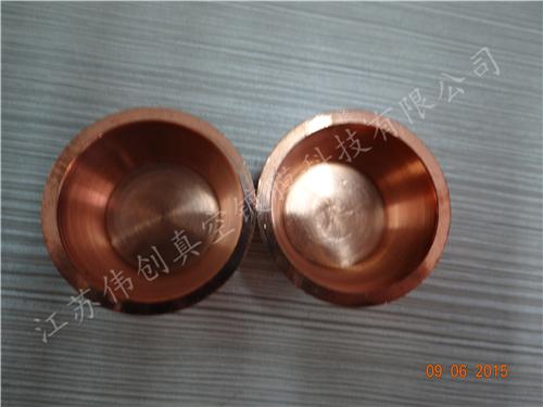 铜坩埚,高纯度铜坩埚 各类坩埚 ,镀膜机配件大小可定制